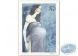 Offset Print, Pregnant woman