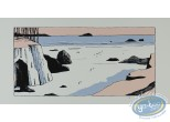 Serigraph Print, Avril : Low tide