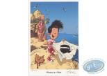 Bookplate Offset, Mon Pépé est un Fantôme : En corse
