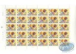 Stamp, Tintin : 30 stamps sheet