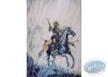 Offset Print, Piste des Ombres (La) : On Horse under the Rain