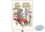 Bookplate Offset, Séverin : Tribute to Comics