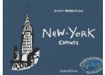 Listed European Comic Books, Carnets : New York