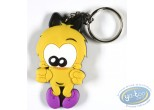 PVC Keyring, Piaf (Le) : The sparrow satisfied