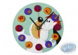 Clocks & Watches, Droopy : clock, Tex Avery  : Droopy jongleur