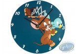 Clocks & Watches, Tom and Jerry : clock, Tom et Jerry : Jerry and the clock