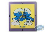 Clocks & Watches, Smurfs (The) : Clock, The Smurf : 2 friends