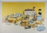 Offset Print, Cahier Bleu (Le) : Cartons et Souvenirs