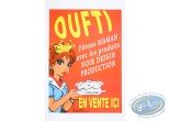 Offset Print, Advertising poster 'Oufti' of Walthéry