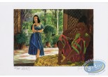 Offset Print, Equatoriales (Les) : 2 Women in the Patio