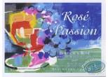 Wine Label, Coupe de fruit - Rosé Passion 1997
