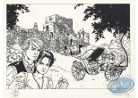 Bookplate Offset, Fer et le Feu (Le) : The car