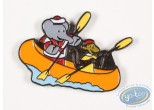 Pin's, Babar : Babar and Zephyr by canoe