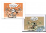 Bookplate Offset, Pacush Blues - Les rats : Tu veux une taffe (jigsaw)