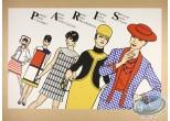 Serigraph Print, Paris (exclusive)