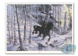 Offset Print, Gorn : Gorn riding a horse (signed)