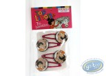 Toy, Top Linotte : Top Linotte : Hairpins