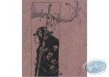 Bookplate Offset, Echaudeurs des Ténèbres (L') : Man with mask