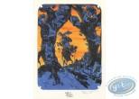 Bookplate Offset, Fontaine aux Fables (La) : les deux Mulets