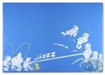 Enamelled plate, Spirou and Fantasio : Le Prisonnier du Bouddha