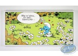 Printed Canvas, Smurfs (The) : She Loves me...