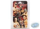 Metal Keyring, World Wrestling Entertainment : Metal keychain, The Stars of Wrestling: Johneena