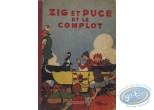 Listed European Comic Books, Zig et Puce : Zig et Puce et le Complot (nearly good condition)