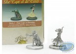 Metal Figurine, Cape et de Crocs (De) : Don Lope & Hermine (unpainted)