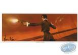 Bookplate Offset, Insurgés d'Edaleth (Les) : Woman with a gun