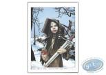 Bookplate Offset, Livre Secret de Merlin (Le) : Young Morgane