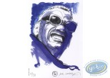 Bookplate Offset, Ray Charles : Portrait