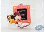 PVC Keyring, Mickey Mouse : Pink framework Minnie, Disney