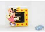 PVC Keyring, Mickey Mouse : Yellow framework Minnie, Disney
