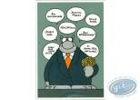 Post Card, Cat (Le) : Practical card