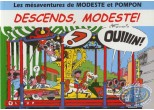 Reduced price European comic books, Modeste et Pompon : Descends, Modeste