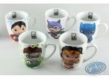 Tableware, Marvel Super Héros : Set of 5 decorated mugs