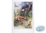 Offset Print, The deers