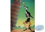 Offset Print, Looney Tunes (Les) : Italian holiday 80X60 cm