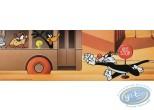 Offset Print, Looney Tunes (Les) : Looney bus 15X45 cm