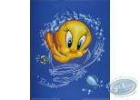 Offset Print, Titi : Tweety fish 50X40 cm