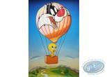 Offset Print, Titi : Tweety flying 93X62 cm