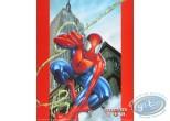 Offset Print, Spiderman : Building 50X40 cm