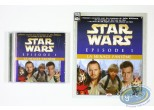 CD, Star Wars : The Phantom Menace, Episode 1: The Story told CD + small album