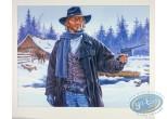Offset Print, Durango : Durango in the snow with a gun