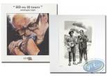 Book, BD en 33 Tours : BD en 33 tours + ex-libris Dany + ex-libris Van Linthout aquarellé