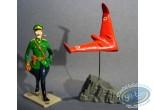 Metal Figurine, Blake and Mortimer : Olrik & Red Wing, Pixi
