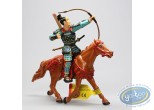 Plastic Figurine, Samouraï : Le samouraï archer sur cheval