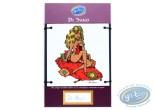 Enamelled plate, Plaque N°1 - Pin-Up de Di Sano