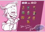 Pin's, BB de BD : Pin's, Plate with 10 pin's