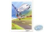 Bookplate Offset, Dézingeurs (Les) : Airbus A380